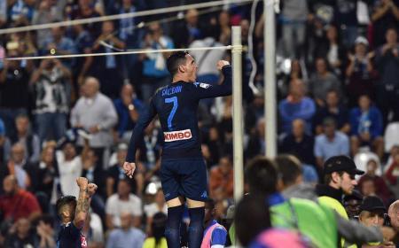 Callejon vs Spal Foto Napoli Twitter