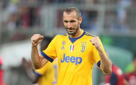 Chiellini 17-18 Juventus Twitter