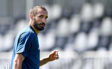Chiellini training Foto Juventus Twitter