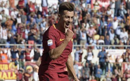 El Shaarawy esultanza vs Udinese Foto Roma Twitter