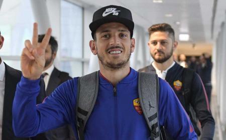 Florenzi partenza per Baku Roma Twitter