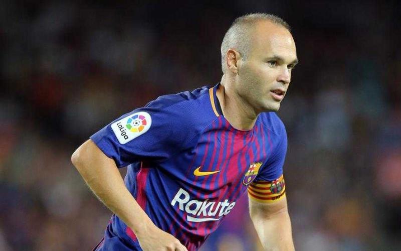 Iniesta Barcellona 17-18 Mundo Deportivo