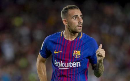 Paco Alcacer Barcellona 17-18 Foto Sportes