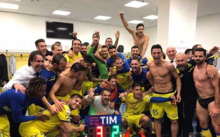 Chievo vs Verona 3-2 Foto Sorrentino Twitter