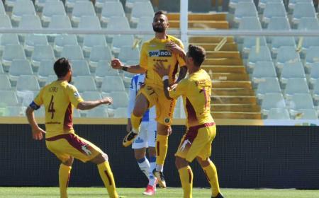 Cittadella esultanza vs Pescara Foto Cittadella Twitter