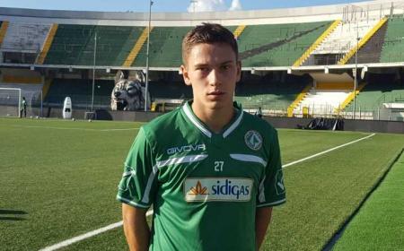 Erik Gliha annuncio Avellino sito ufficiale