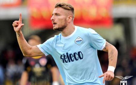 Immobile gol vs Benevento Foto Lazio Twitter