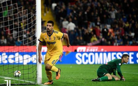 Khedira gol vs Udinese Foto Juventus Twitter