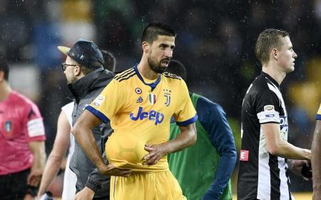 Khedira tripletta vs Udinese Foto Juventus Twitter