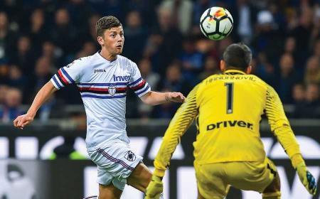 Kownacki vs Inter Foto Sampdoria Twitter