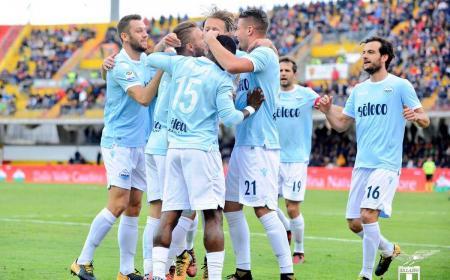 Lazio esultanza vs Benevento Foto Lazio Twitter