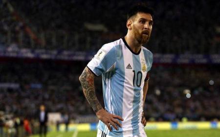 Messi Argentina 17-18 Foto The Sun