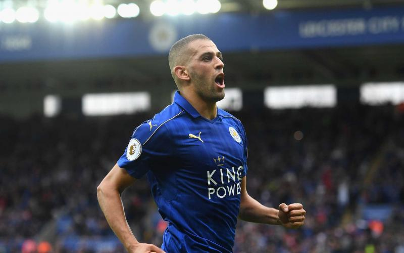 Slimani Leicester Foto: Independent