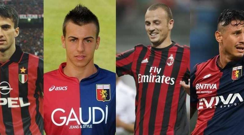 Milan-Genoa collage