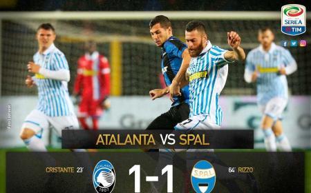 Atalanta Spal 1-1 Serie A Twitter