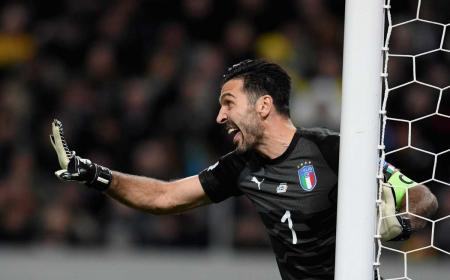 Buffon Italia vs Svezia Foto Nazionale italiana Twitter