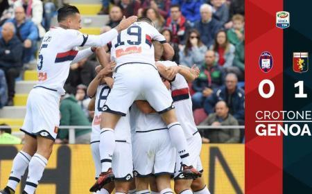 Crotone Genoa 0-1 Genoa Twitter