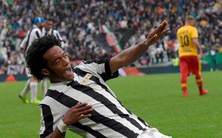 Cuadrado gol vs Benevento Foto Juventus Twitter