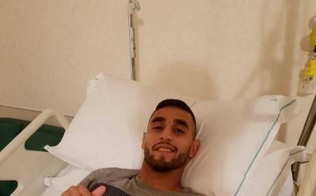 Ghoulam dopo post operazione Foto Ghoulam Twitter