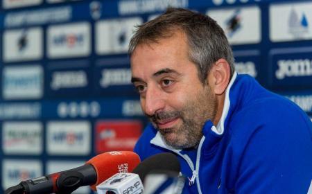 Giampaolo conferenza pre Juve Foto Sampdoria Twitter