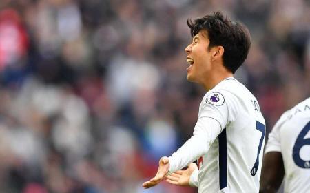 Son gol vs Crystal Palace Tottenham Twitter