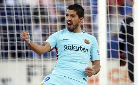 Suarez Luis vs Leganes Foto Barcellona Twitter