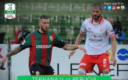 Ternana Perugia 1-1 Serie B Twitter