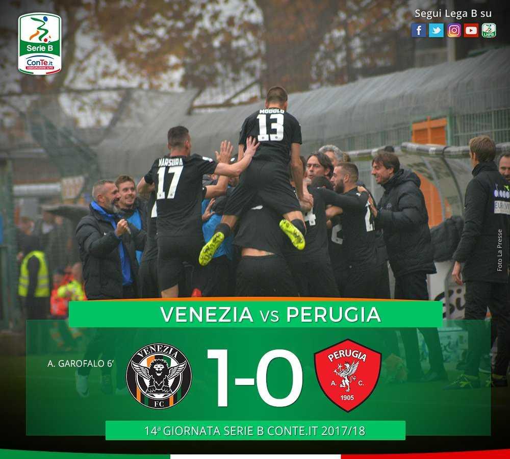 Venezia Perugia 1-0