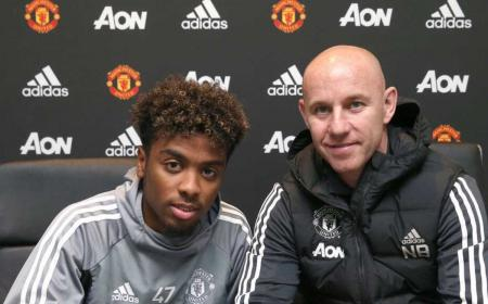 Angel Gomes Twitter uff United