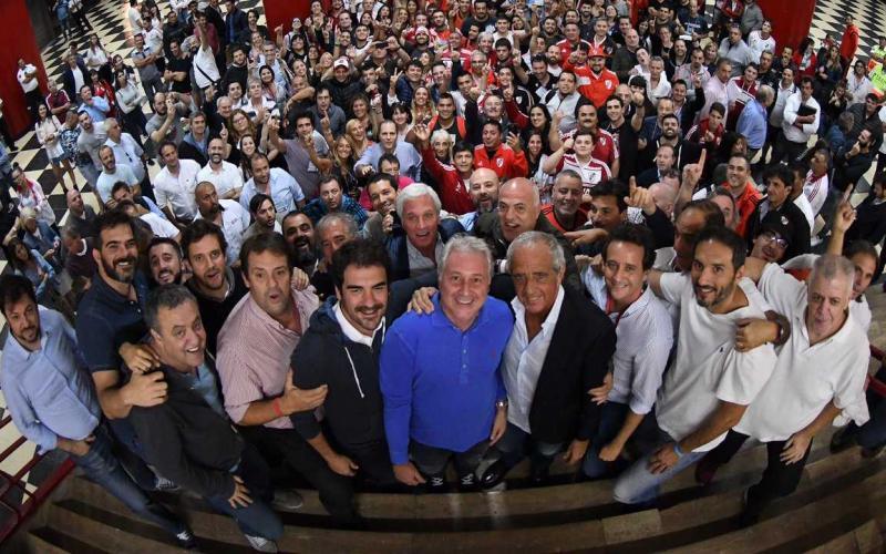 D'Onofrio elezioni presidenza Foto River Plate Twitter