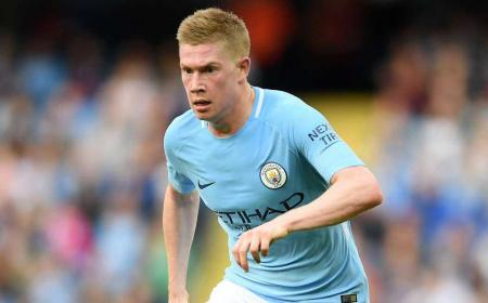 De Bruyne City 17-18 Foto givemesport