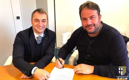 Faggiano firma rinnovo Foto Parma Twitter