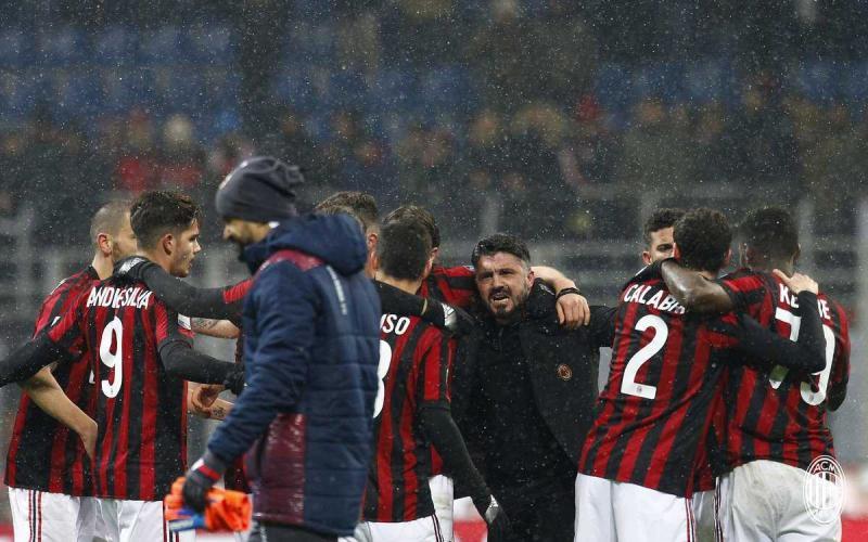 Gattuso Twitter Milan