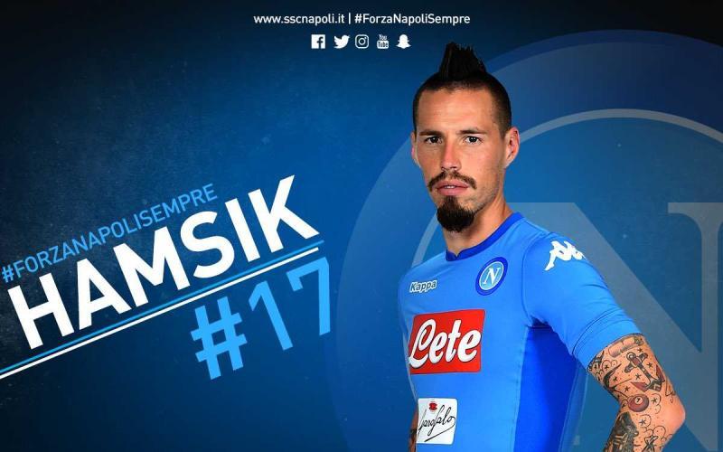 Hamsik 115 Napoli Twitter