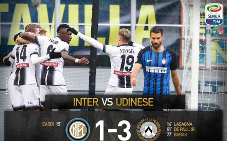 Inter Udinese 1-3 Serie A Twitter