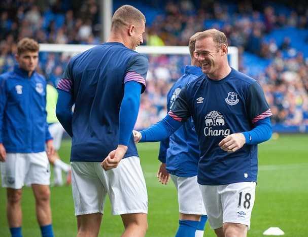 Rooney e Barkley Foto Daily Mail