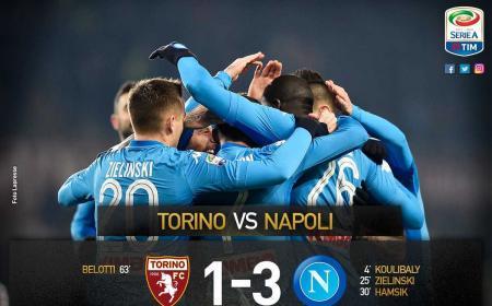 Torino Napoli 1-3 Serie A Twitter