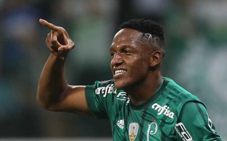 Yerri Mina Palmeiras Foto Globo Esporte