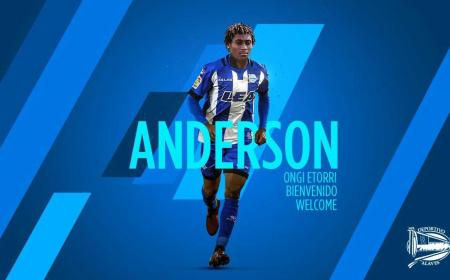 Anderson annuncio Deportivo Alavaes Twitter
