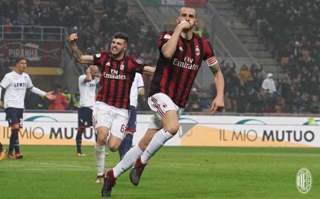 Bonucci Twitter uff Milan
