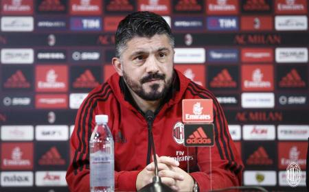 Gattuso conferenza pre gara Milan Twitter
