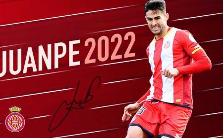 Juanpe rinnovo Girona Twitter