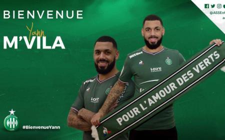M'Vila Twitter Saint-Etienne