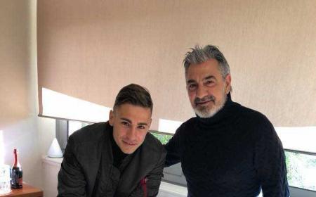 Ricci e Vrenna firma Crotone Facebook