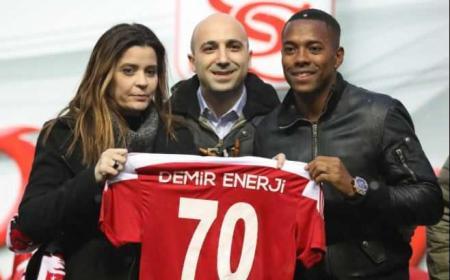 Robinho Twitter uff Sivasspor