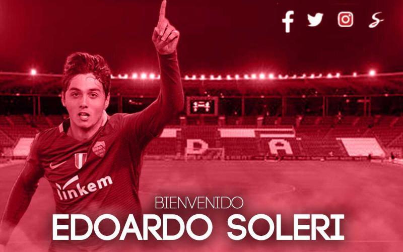 Soleri annuncio Almeria Twitter