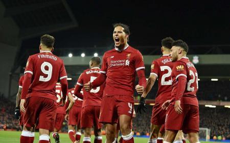 Van Dijk Twitter Liverpool