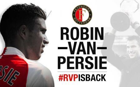 Van Persie Twitter Feyenoord