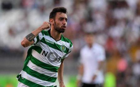 Bruno Fernandes Sporting Lisbona Foto maisfuteboliol