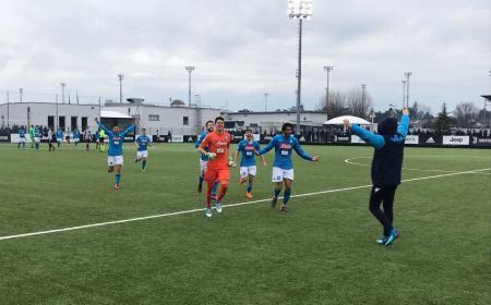 Napoli Primavera 2-3 vs Juventus Foto Napoli Twitter